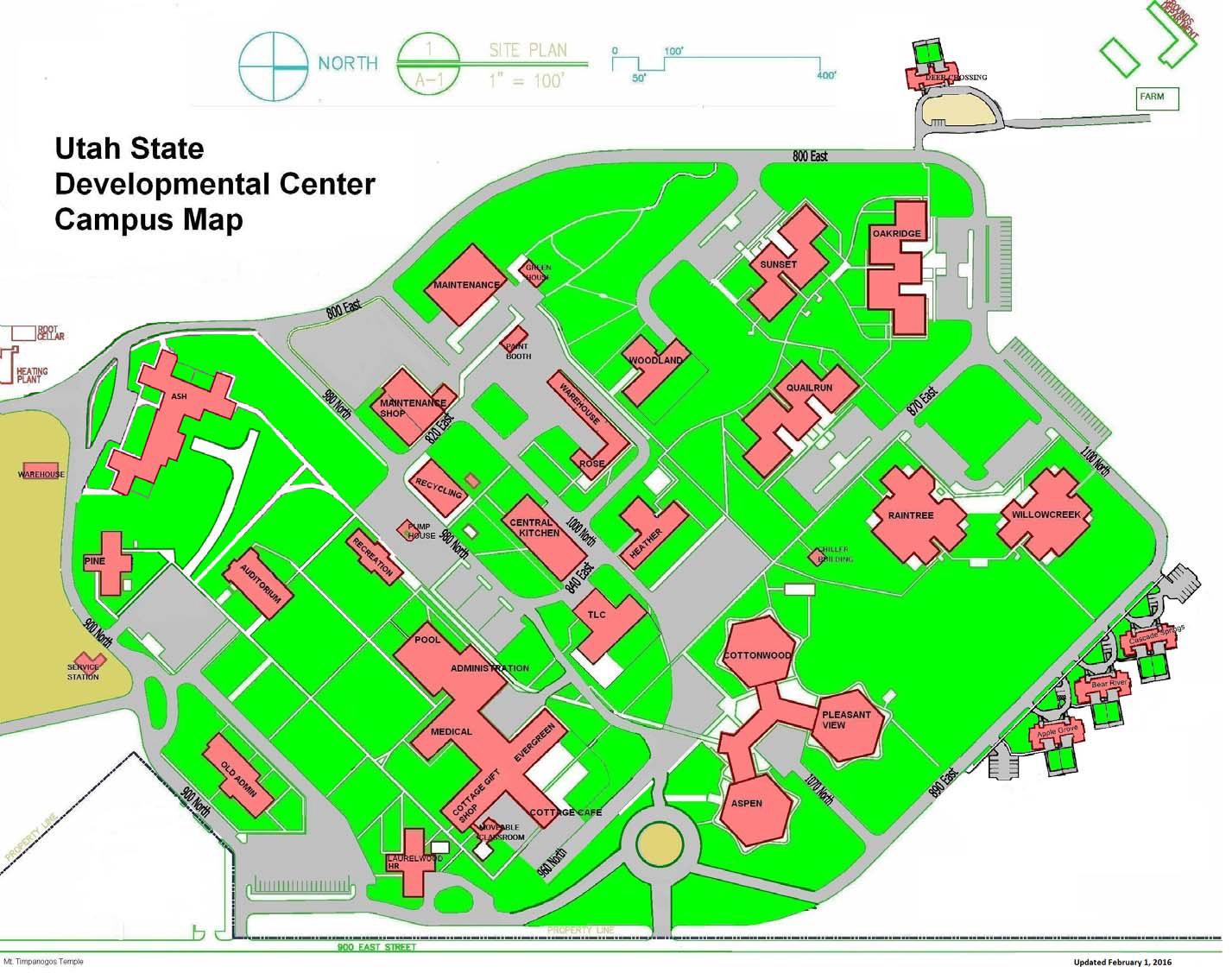 Download Printable Campus Map